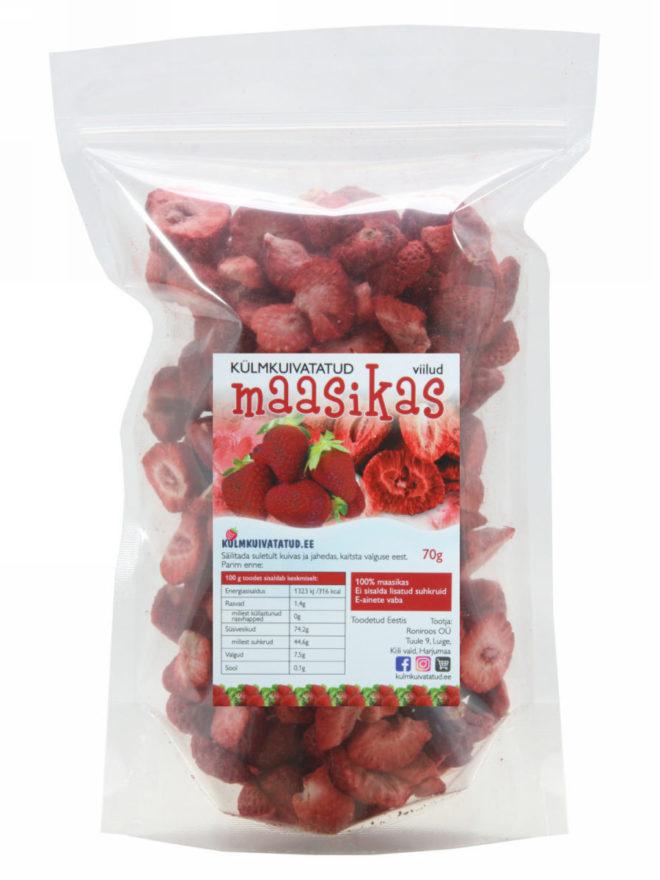maasika viilud 70g