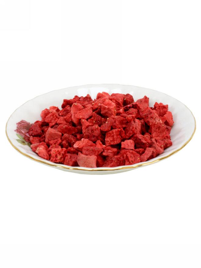 külmkuivatatud maasika kuubikud : kulmkuivatatud.ee