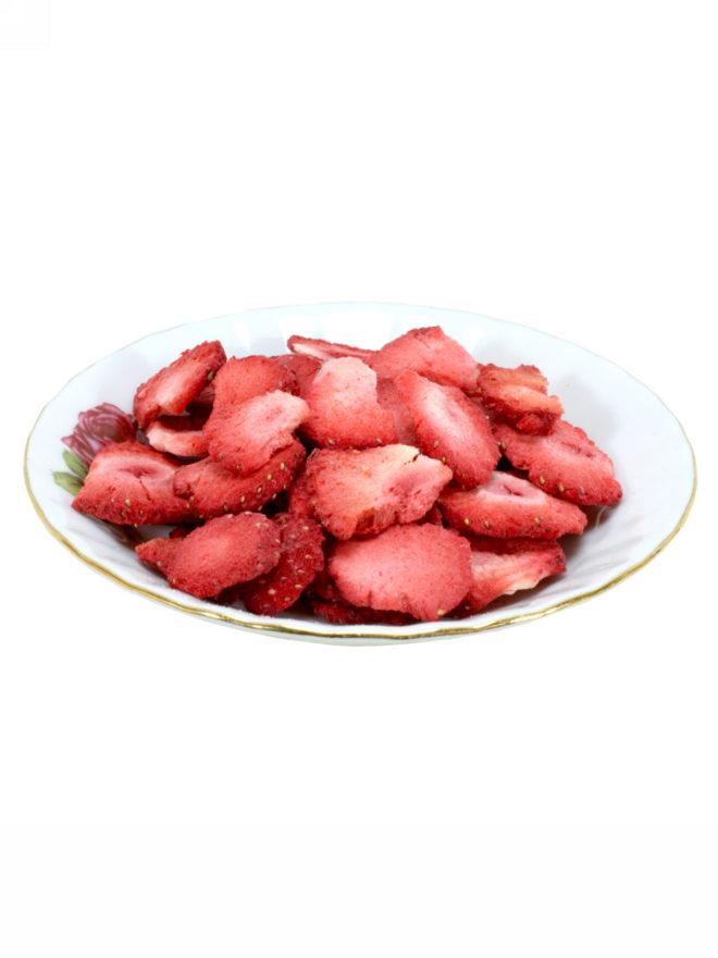külmkuivatatud maasika tükid : kulmkuivatatud.ee